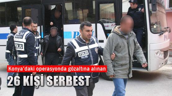 Gözaltına Alınan 26 Kişi Serbest Kaldı.